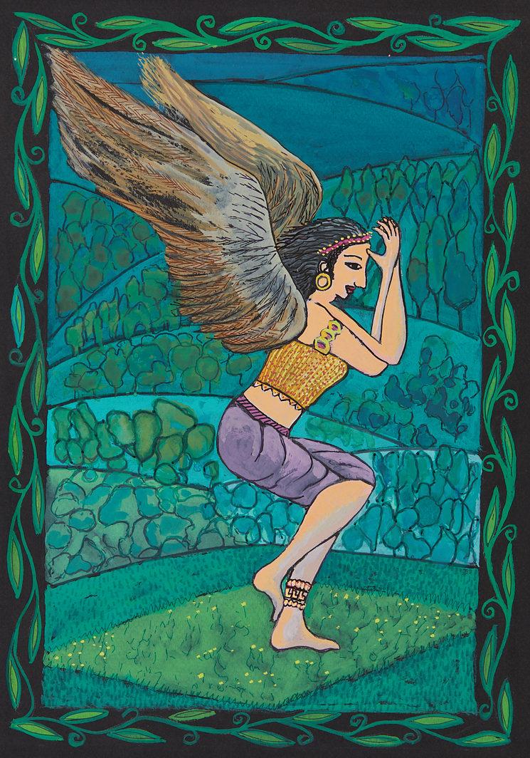 Postura El Águila (Garudasana)