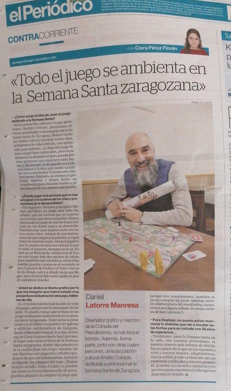 Aparecemos en El Periódico de Aragón