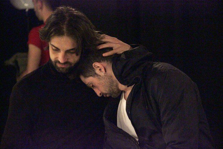 Christian Escuredo y Andrés Acevedo en los ensayos de AFTERGLOW Foto: Trini Quevedo