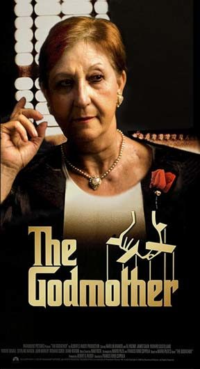 "Marlene Brando starring ""The Godmother"".1972."