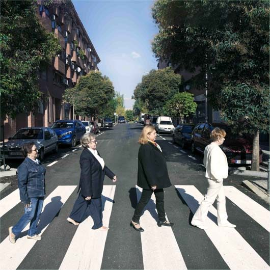 "The Beatles album ""Abbey Road"". 1969."