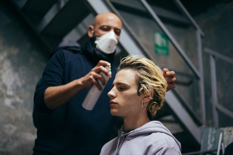 Pepito Juez, peluquería y maquillaje.