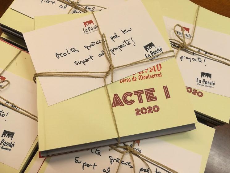 Pack complert dels quatre llibrets (3 actes i llibret de projecte)