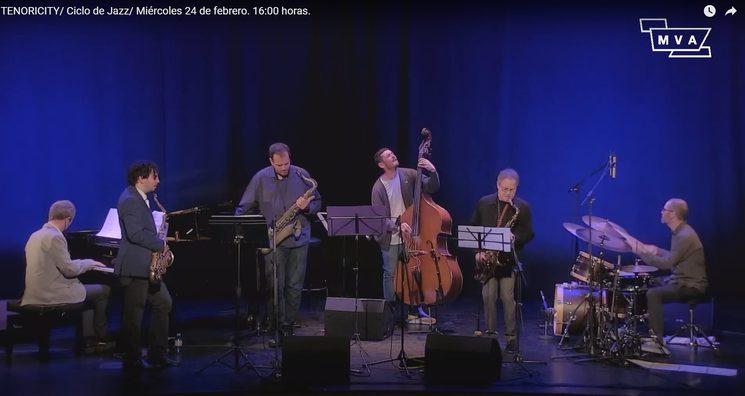 Tenorism, Ciclo de Jazz MVA 24 de Febrero de 2021