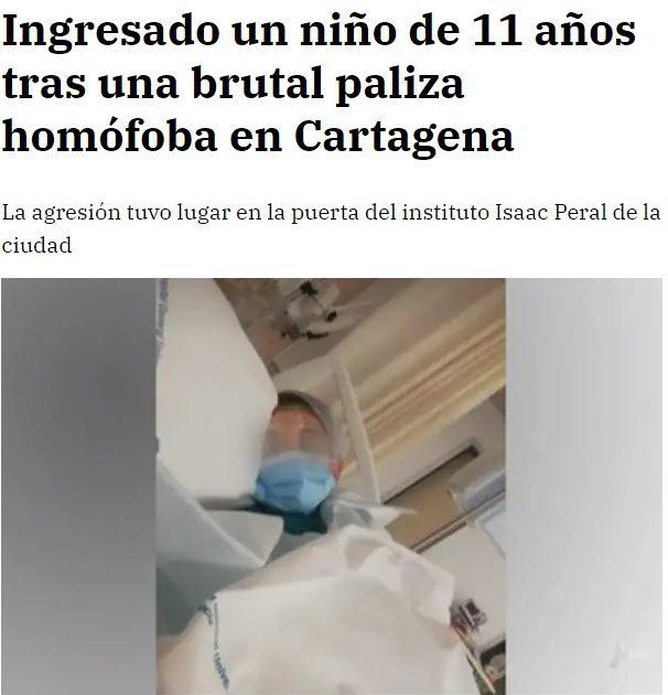 Titular del diario La Razón