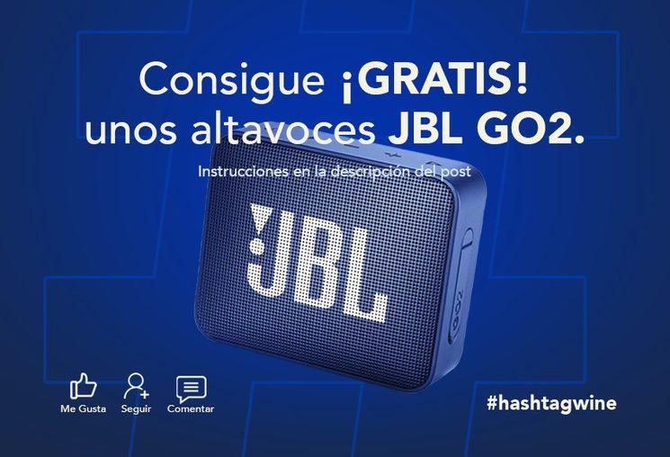 ¡Regalamos un altavoz JBL Go2 a uno de nuestro seguidores de Instagram! ¿Quieres ser tu?: