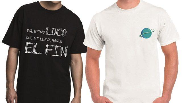Camisetas edición