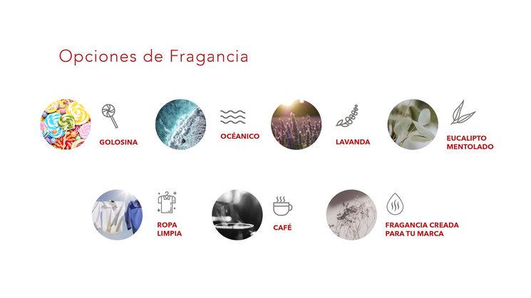 Surtido de perfumes