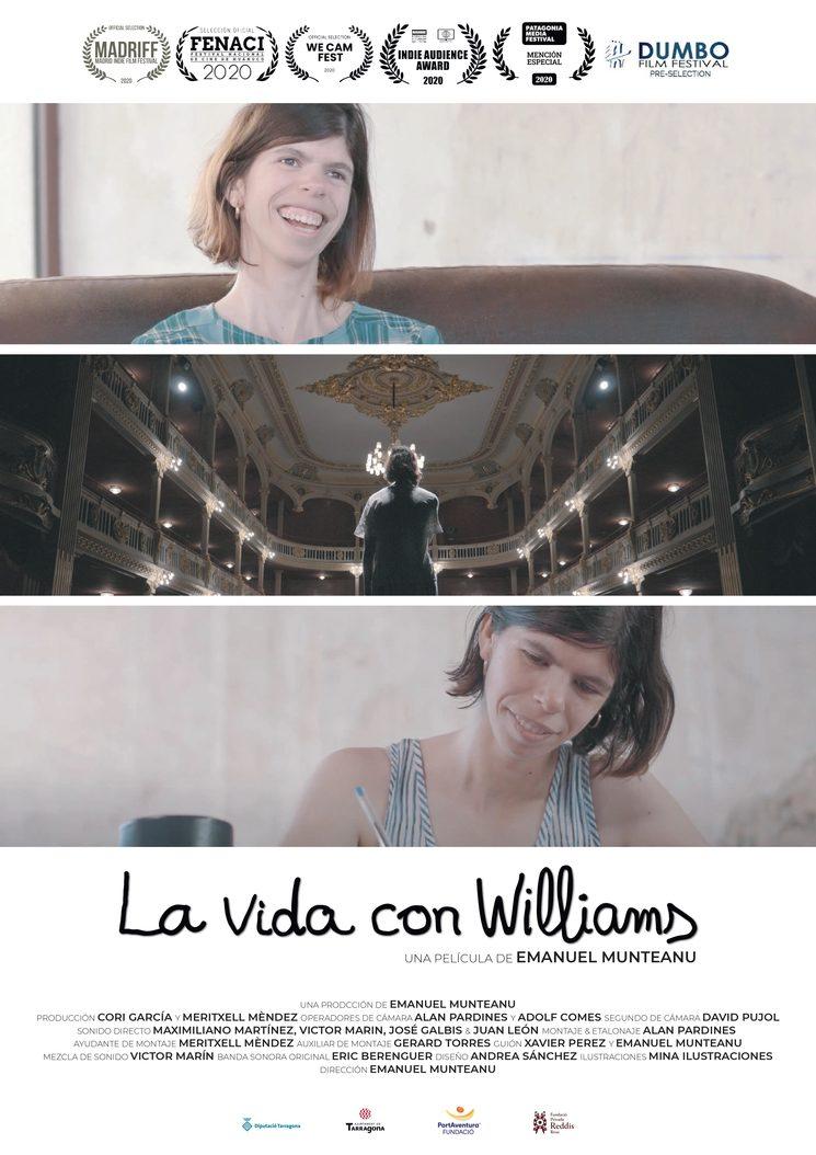 Cartel oficial · La vida con Williams
