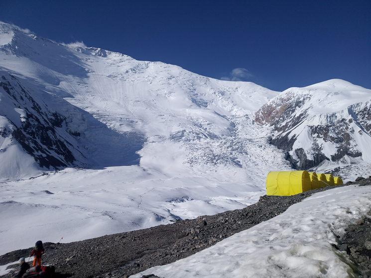 Expedición Pico Lenin 7134 metros, año 2019
