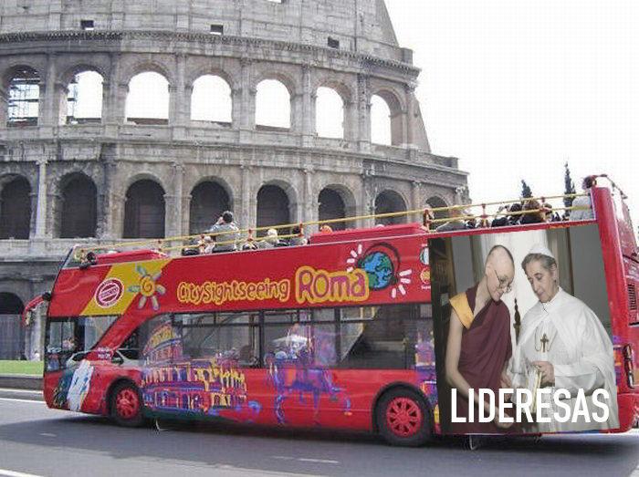 """Lideresas"" en Roma"