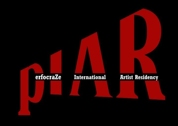 pIAR (performance international artistic residency) logo.