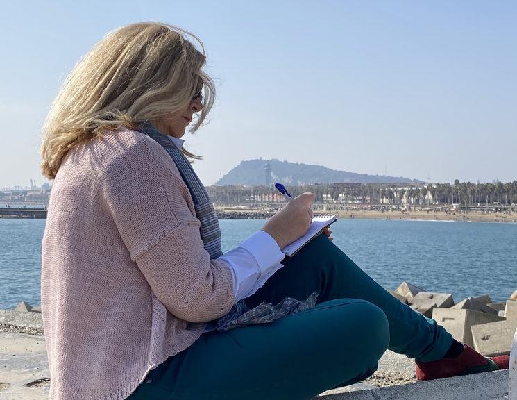 Itziar. Escribiendo con la inspiración del mar