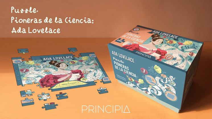 Puzzle Pioneras de la ciencia: Ada Lovelace