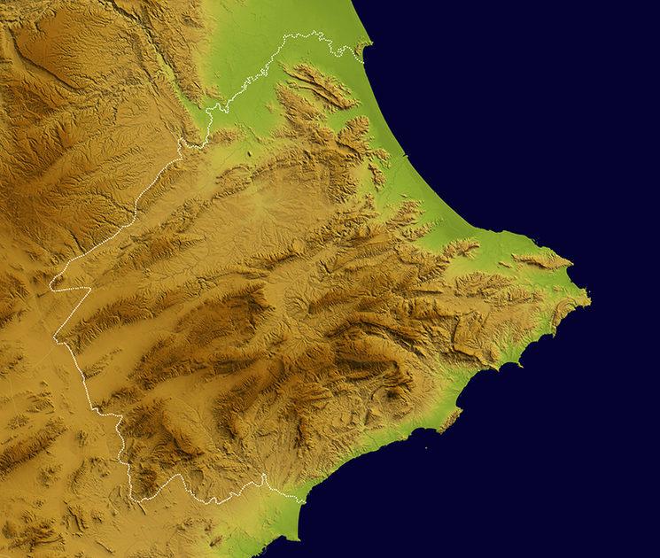 Mapa de Diània