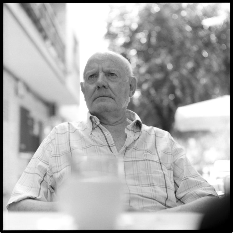 Fotografía analógica a José Antonio Cáceres (Hervás, 2020)