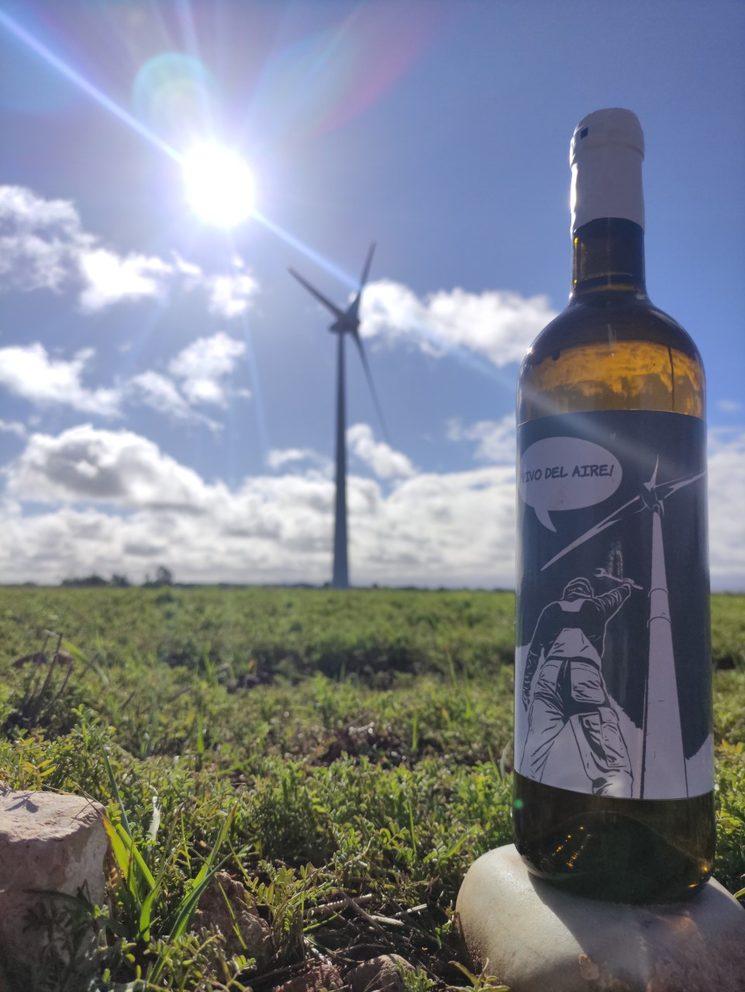 """""""vivo del aire"""" Orange wine 2020"""