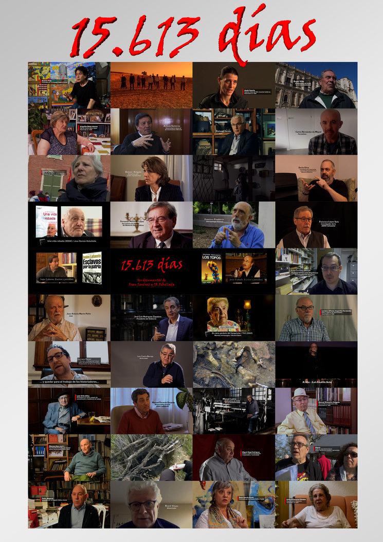 Todas las personas que aportan sus testimonios en la película