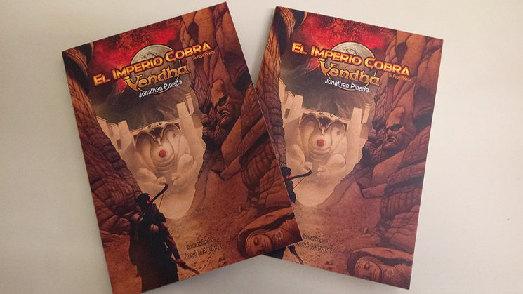 Sorteo de dos ejemplares del libro juego Vendha, ambientado en el Imperio Cobra