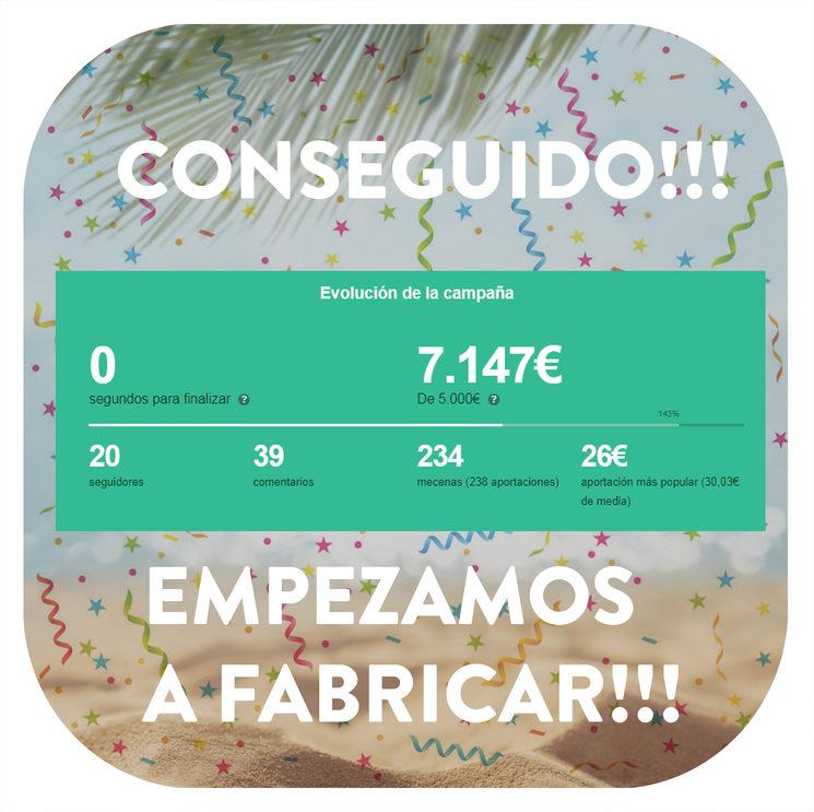 CAMPAÑA CONSEGUIDA!!!