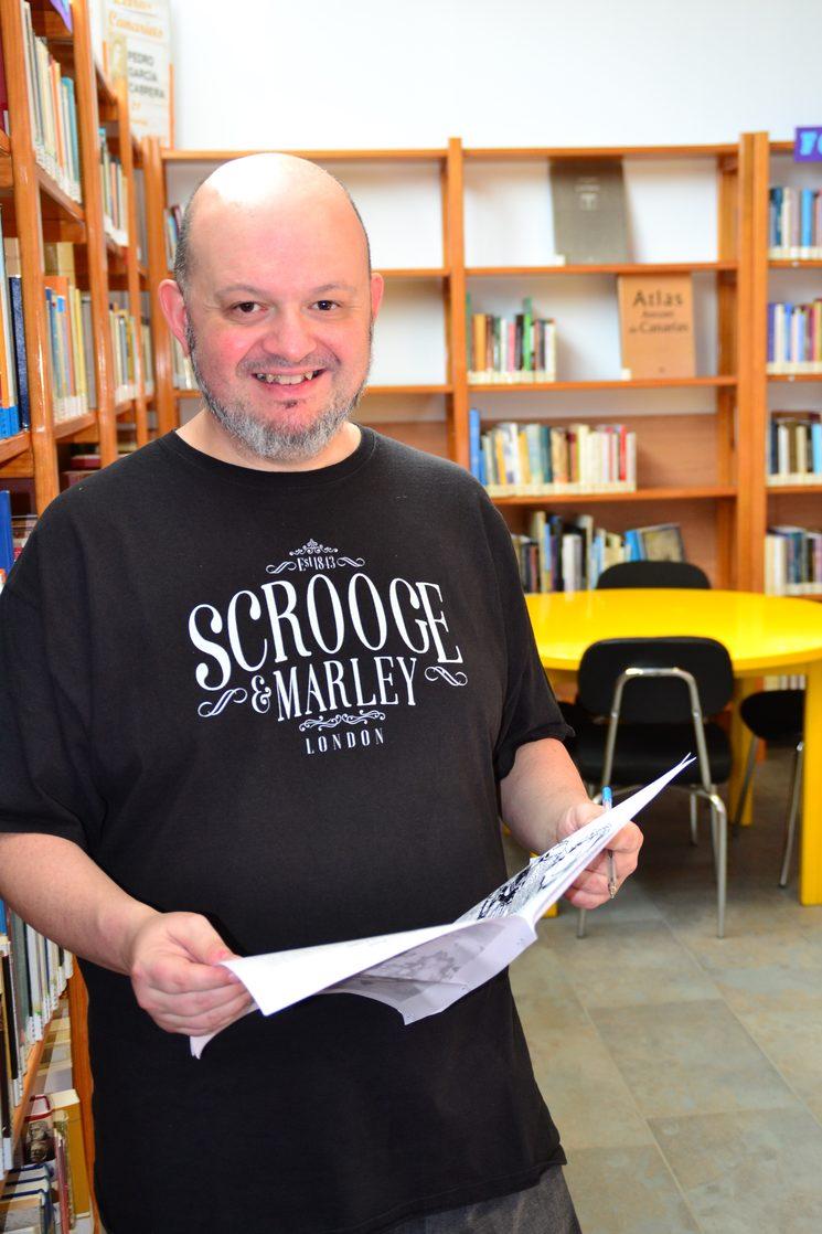 El autor, José Ramón Navas