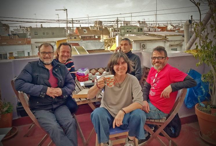 Ismael, Lalo, Coca, Oliveiro y Anselmo