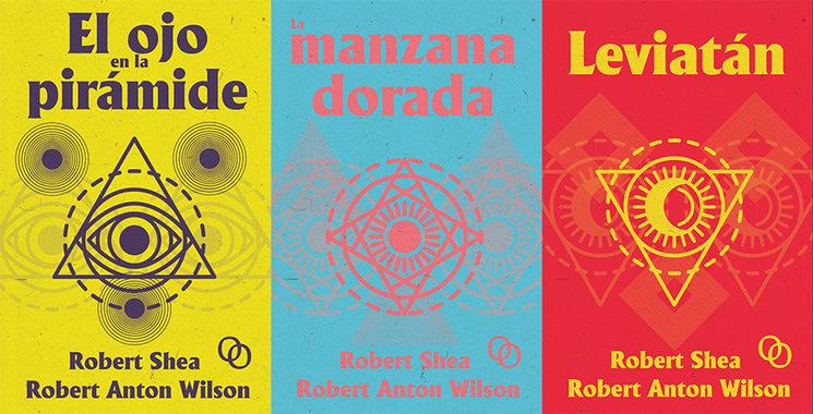 Las portadas de los libros que componen la trilogía. Estarán en el interior del volumen y haremos el juego de postales con ellas.