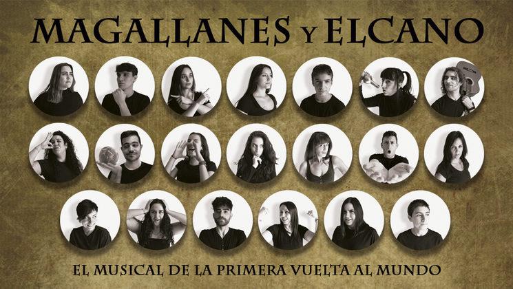 """Elenco completo de """"Magallanes y Elcano"""""""