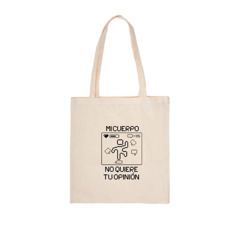 Tote bag con ilustración exclusiva de Elsa Ruiz