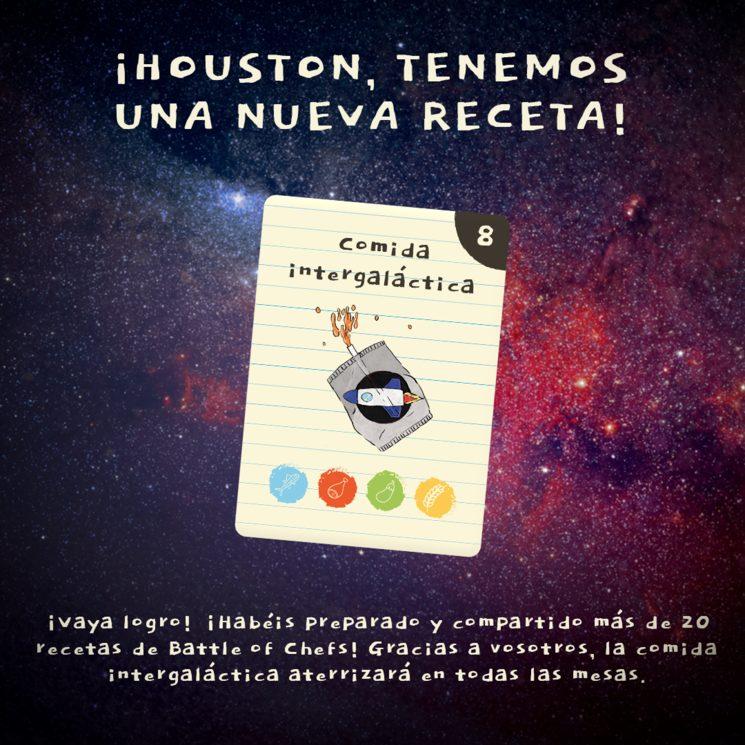 🚀 ¡HOUSTON, TENEMOS UNA NUEVA RECETA! 🚀