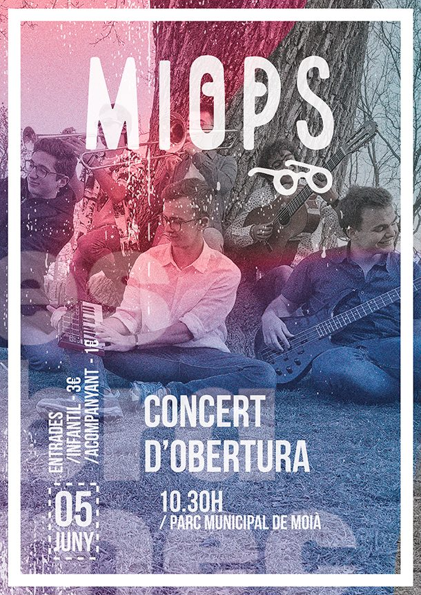 Cartell concert MIOPS