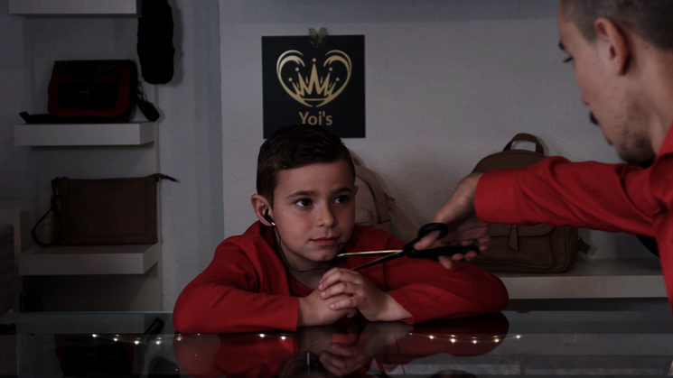 """Reg child"" Played by Raúl Belloch"