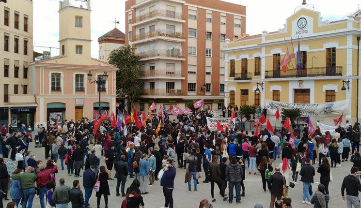 Protestes en record de Guillem Agulló a Burjassot 1994 - 2021