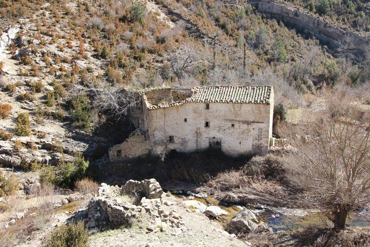 Molino hidráulico (Cañada de Benatanduz)