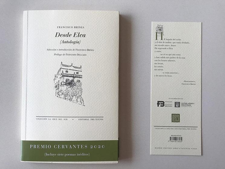 Consigue 'Desde Elca' del Premio Cervantes Francisco Brines con un ex libris exclusivo ¡Sólo hasta el jueves!