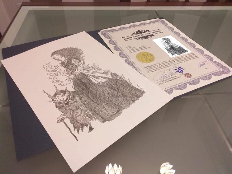 Arte original Javier Prado y certificado