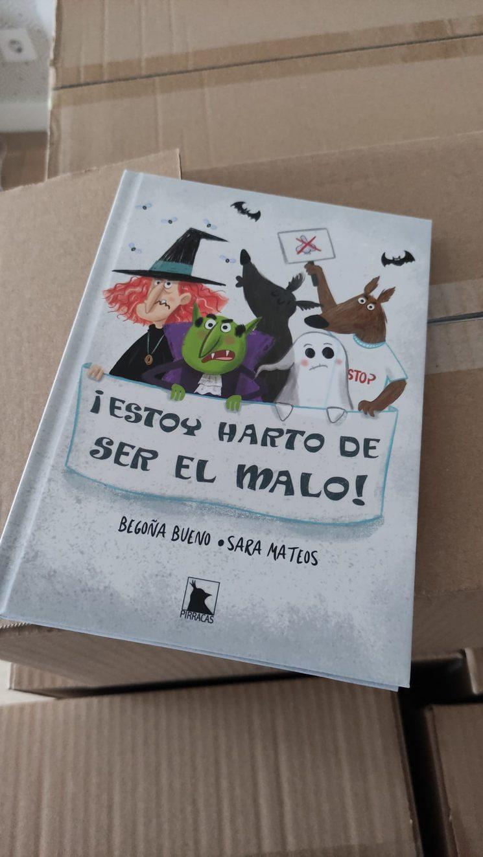 Han llegado los libros!