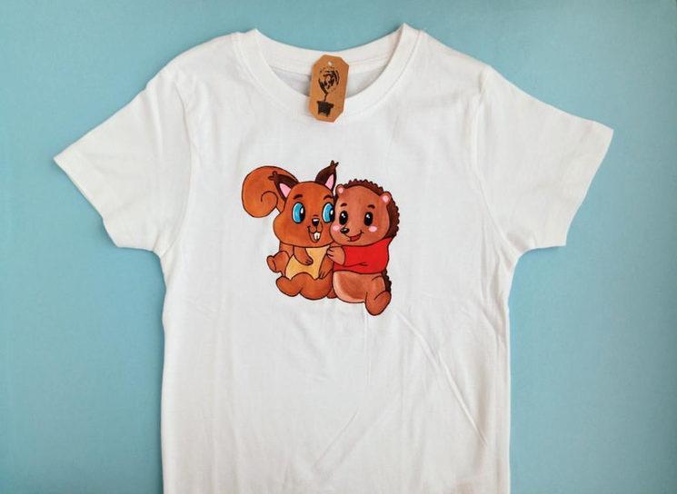 Camiseta Púas y Canela