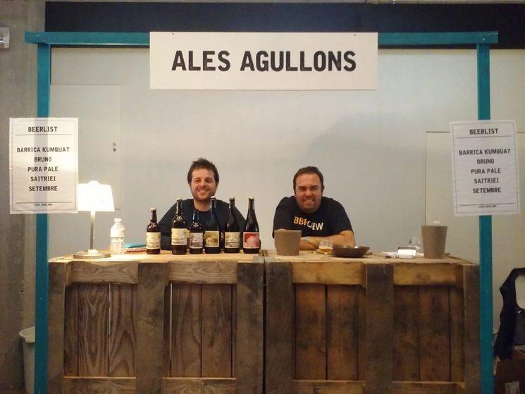 Joan&Mikel en un festival en Bélgica con los amigos de Ales Agullons