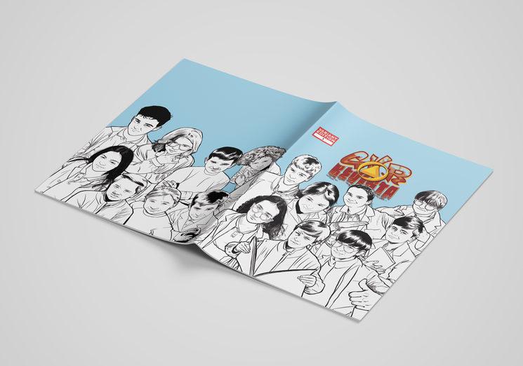 Diseño  revista abierta
