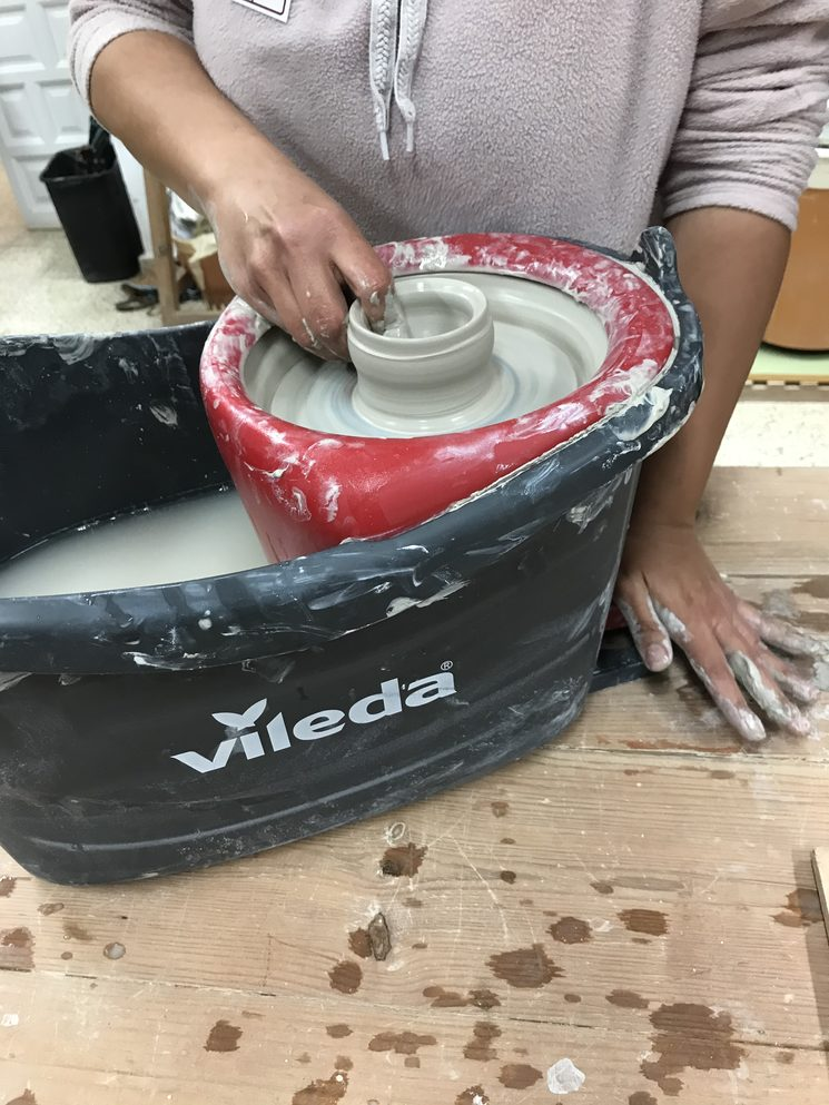 diy pottery wheel