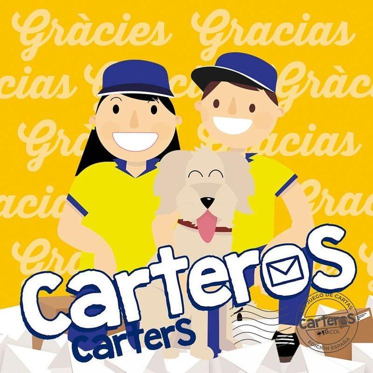 Carteros edición España gracias a vosotros una realidad ; )