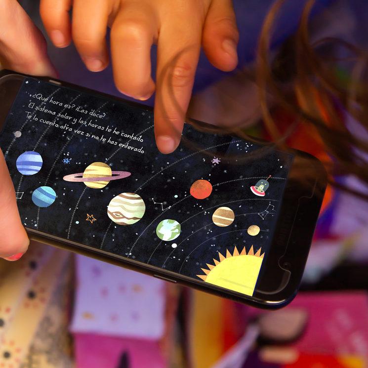 Cuento interactivo para móvil y tablet