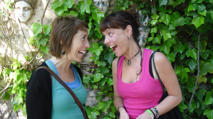 María and Almudena
