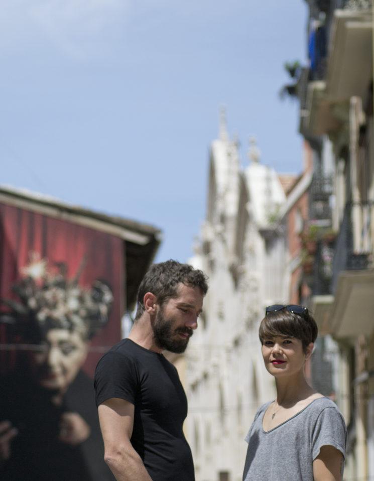 Borja Penalba i Mireia Vives. Fotografia de Lorena Perales.