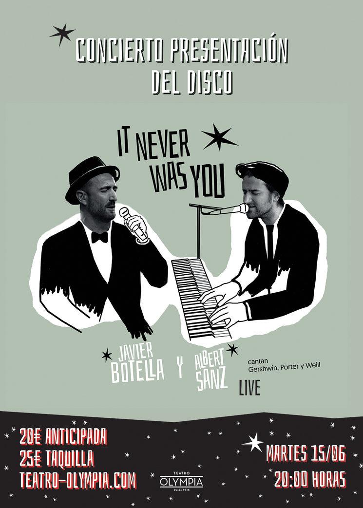 Concierto de presentación del disco de Javier Botella y Albert Sanz