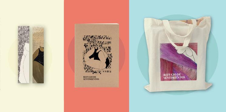 Recompensas: Marcapáginas, Libreta, Tote bag. También, tu Nombre en Agradecimientos y una Dedicatoria ilustrada, personalizada