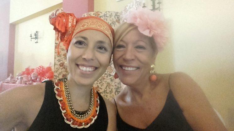 María and Carmen, her mum and faithful companion