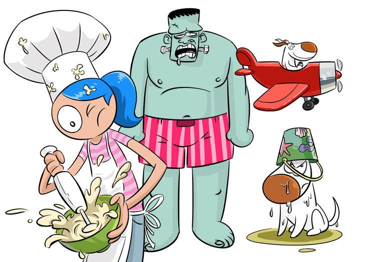 il·lustracions de Nacho Gallach per a \