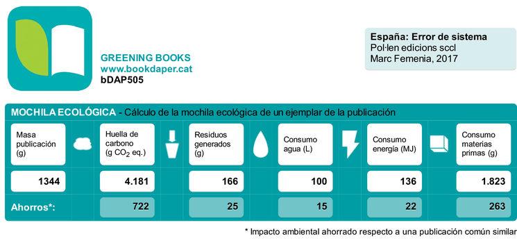 Mochila ecológica Bookdaper